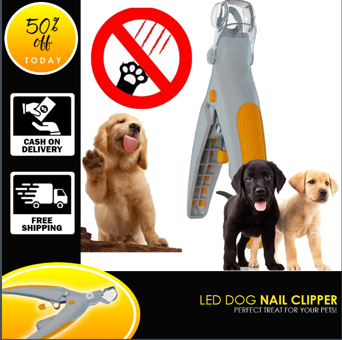 PRO PET LED NAIL CLIPPER - 50% off & Free Shipping Today!