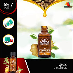 Pain Relief Herbal Ginger Oil - Buy 1 Take 1 Today!