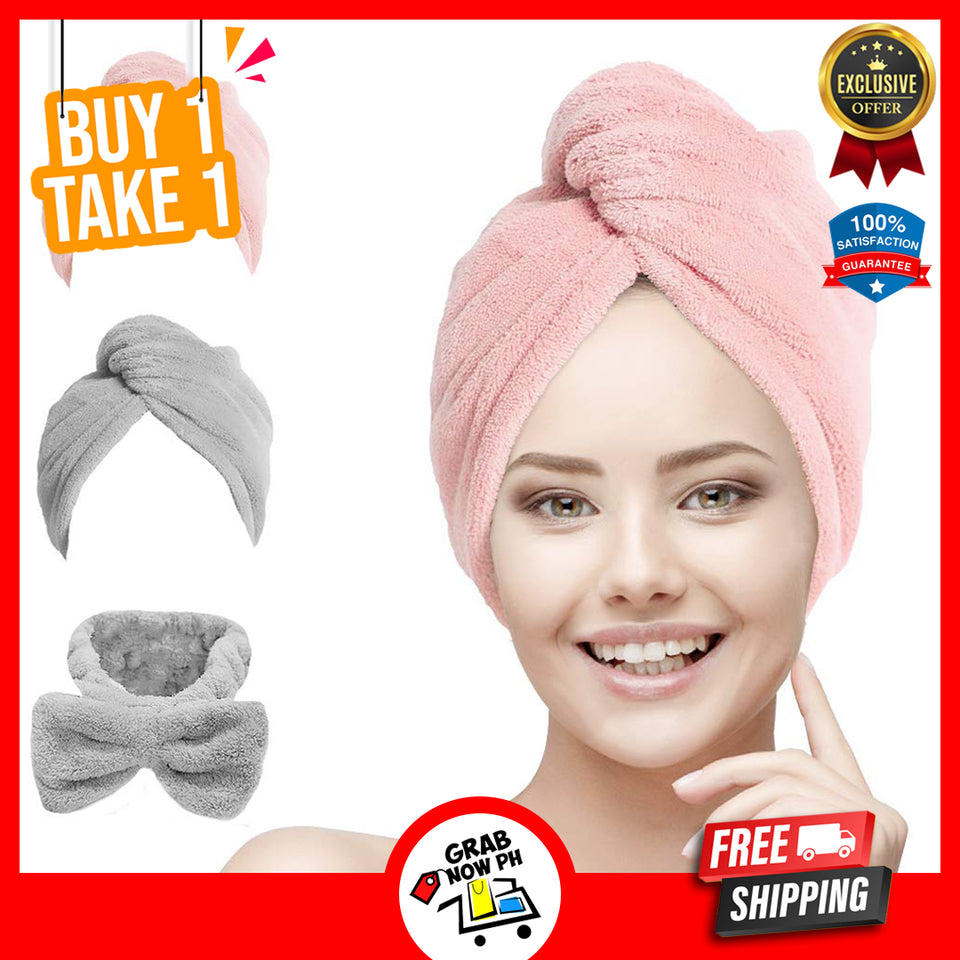 Quick Hair Drying Hat - Buy 1 take 1 & Free Shipping Today! Assorted Colors