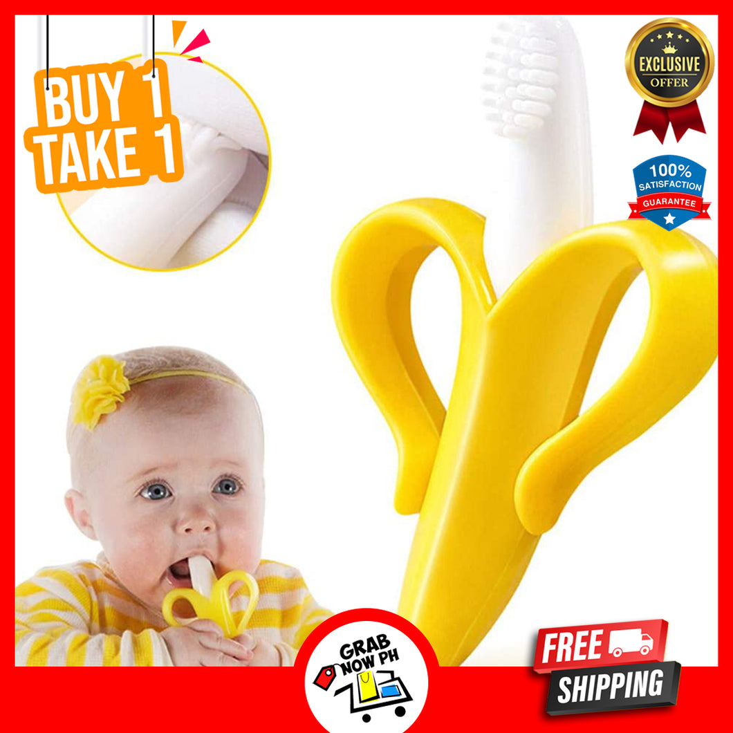 Banana Baby Teether - (100% SAFETY FOR BABIES) BUY 1 TAKE 1 & FREE SHIPPING TODAY!