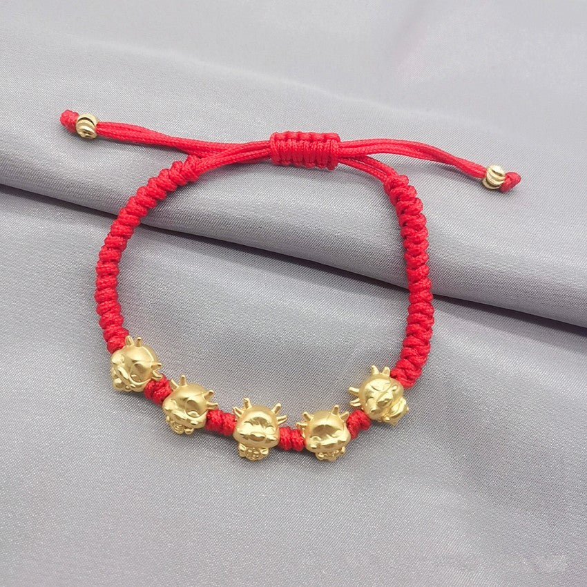 Fortune Lucky Ox Bracelet - Buy 1 Take 1 with Free Red String