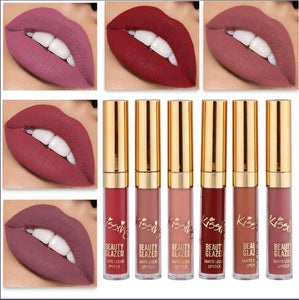 Original Beauty Glazed Matte Lipstick - 1 BOX SET - FREE SHIPPING TODAY!