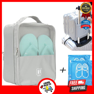 Travel Bags - Holds 3 Pair of Shoes- 50% OFF & FREE SHIPPING TODAY!