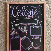 Load image into Gallery viewer, Birthday Reusable Chalkboard