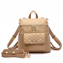 Load image into Gallery viewer, PRE ORDER Petit Monaco Diaper Bag | Latte