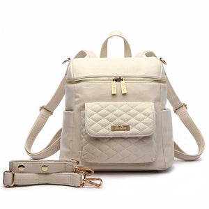Petit Monaco Diaper Bag | Pearl White