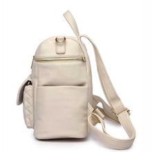 Load image into Gallery viewer, Petit Monaco Diaper Bag | Pearl White