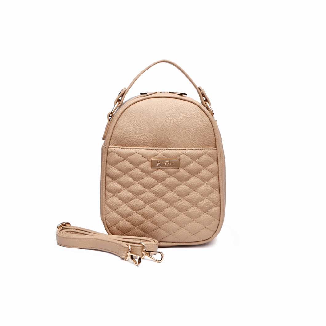 Monaco Snack Bag in Latte Brown