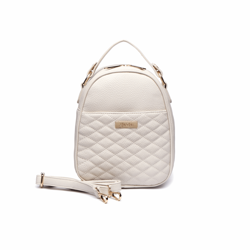 Monaco Snack Bag in Pearl White