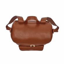 Load image into Gallery viewer, Monaco Diaper Bag | Caramel Brown