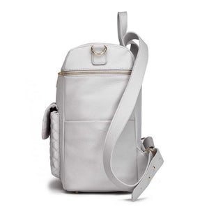 Monaco Diaper Bag | Stone Grey