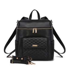 PRE ORDER Monaco Diaper Bag | Ebony Black