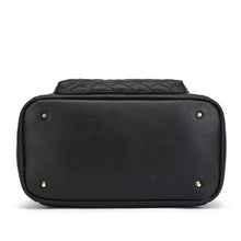 Load image into Gallery viewer, Monaco Diaper Bag | Ebony Black
