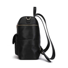 Load image into Gallery viewer, PRE ORDER Monaco Diaper Bag | Ebony Black