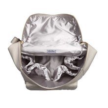 Load image into Gallery viewer, Monaco Diaper Bag | Pearl White