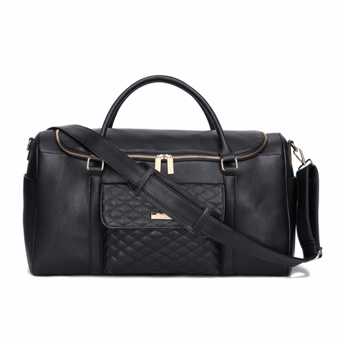 Monaco Travel Bag Ebony Black