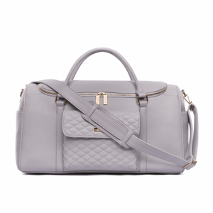 Monaco Travel Bag Stone Grey
