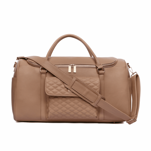 Monaco Travel Bag Latte Brown