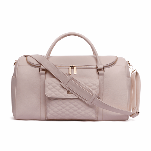 Monaco Travel Bag Pastel Pink