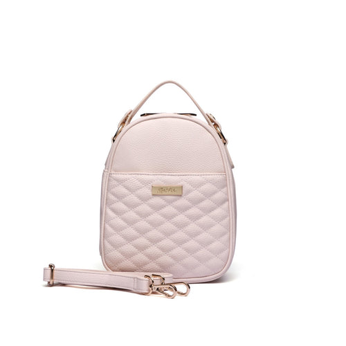 Monaco Snack Bag in Pastel Pink