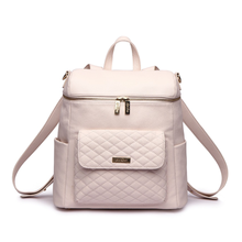 Load image into Gallery viewer, PRE ORDER Monaco Diaper Bag | Pastel Pink