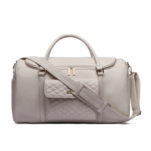 Monaco Travel Bag Pearl White