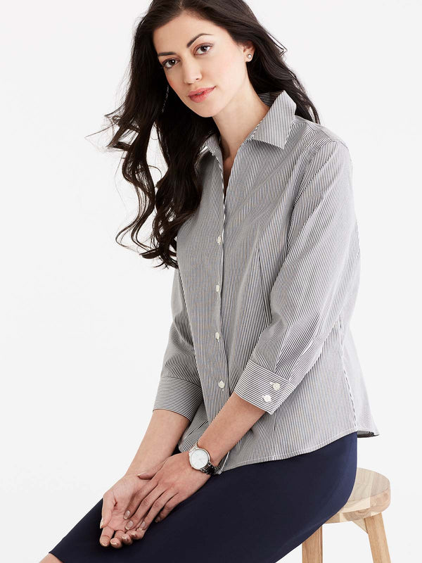Non-Iron 3/4-Sleeve Shirt