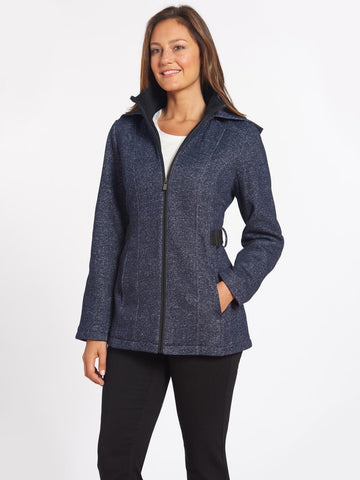 Fleece Zip Hooded Jacket