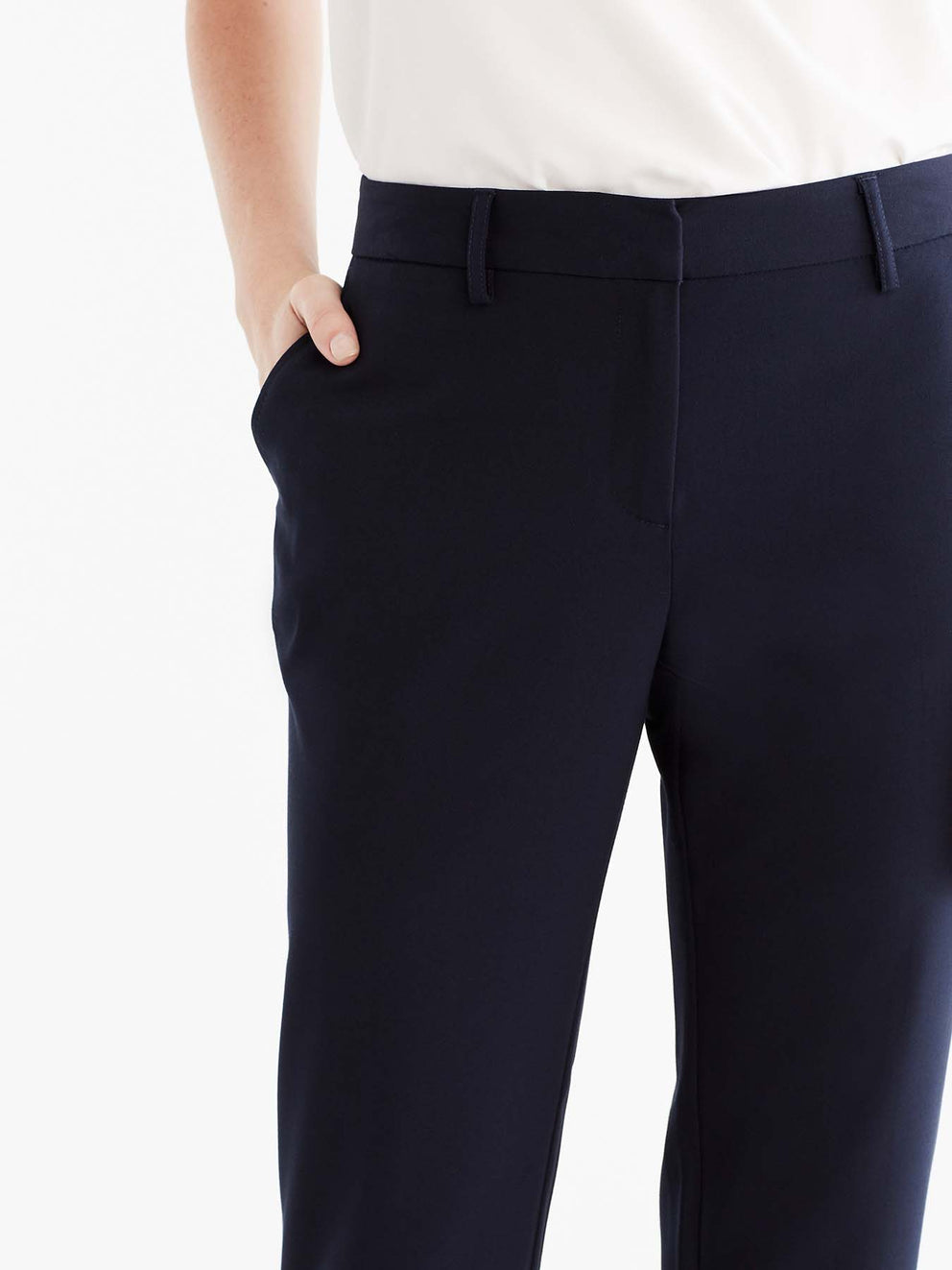 Navy Grace Full-Length Pant Color Navy