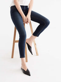 Lexington Indigo Wash Curvy Skinny Jeans Color Blue