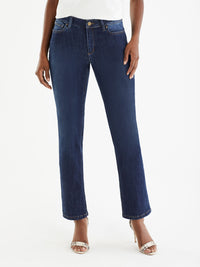The Jones New York Lexington Deep Sky Wash Sustainable Jeans in color Deep Sky Wash - Image Position 1