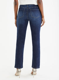 The Jones New York Lexington Deep Sky Wash Sustainable Jeans in color Deep Sky Wash - Image Position 3