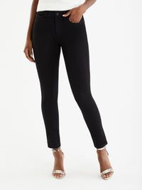 The Jones New York Lexington 4 Way Stretch Skinny Jeans in color Black Rinse Wash - Image Position 1