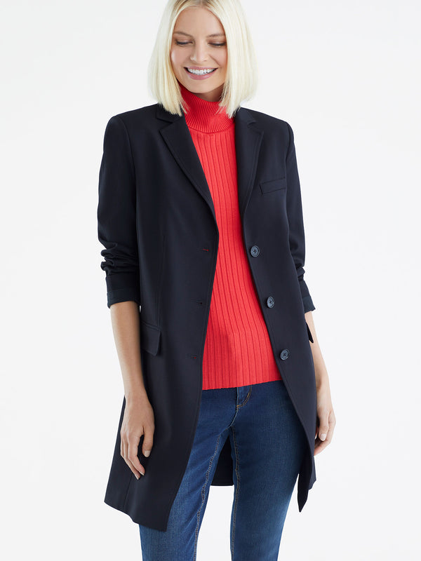 Three-Button Longline Trench