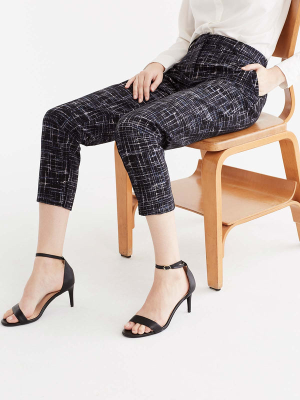 Grace Printed Ankle Pant Color Storm Combo