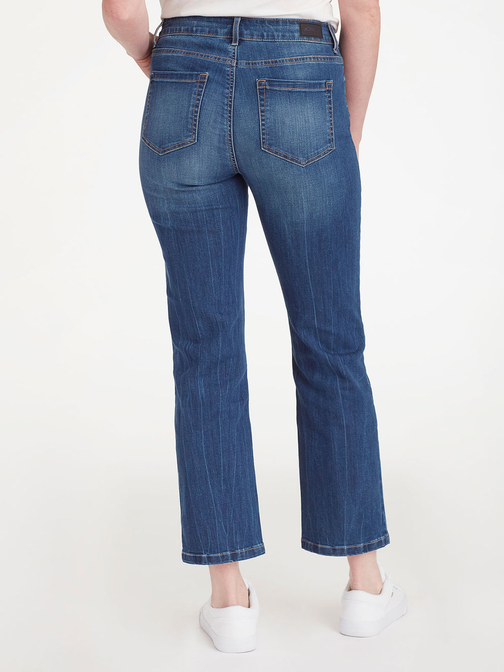 The Jones New York Lexington Montana Wash Ankle Jeans in color Montana Wash - Image Position 3