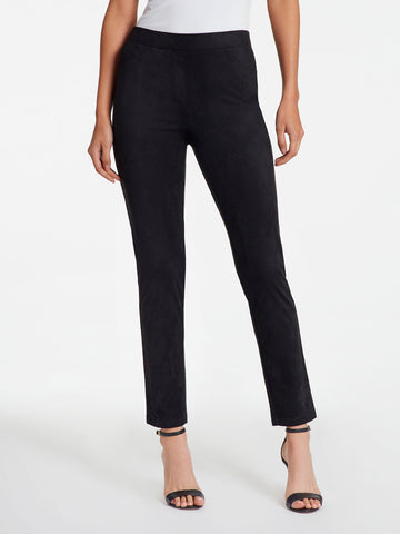 Madison Slim Faux Suede Pant