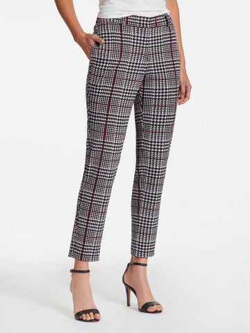 Plaid Easy Ankle Pant