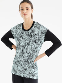 The Jones New York The Jet Set Tunic in color Pale Ocean Combo - Image Position 1