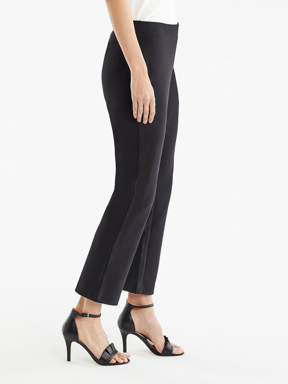The Jones New York Clean Pull-On Pant, Plus Size in color Black - Image Position 2