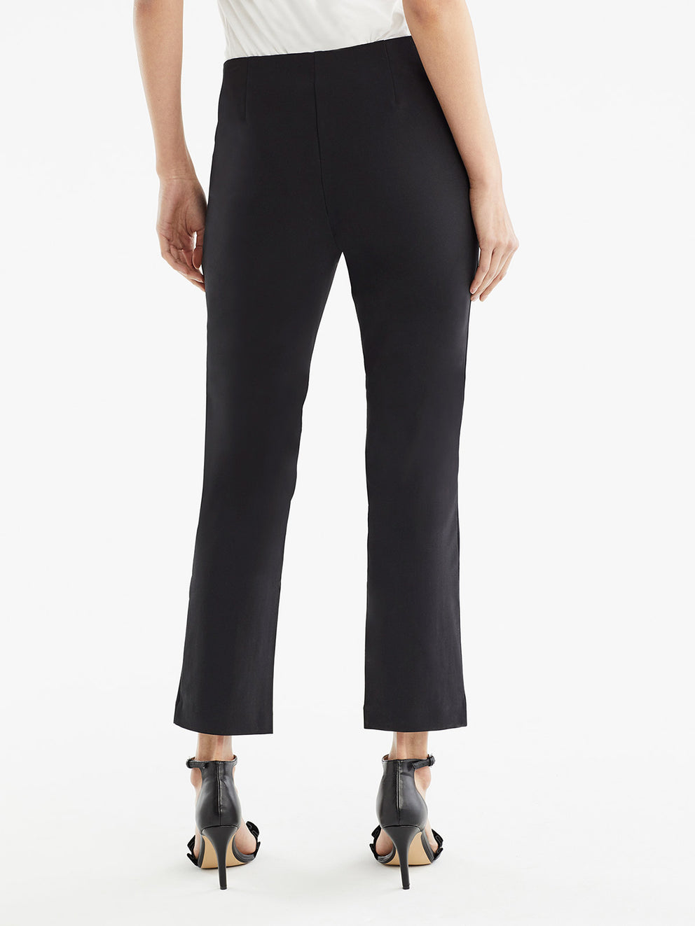 The Jones New York Clean Pull-On Pant, Plus Size in color Black - Image Position 3