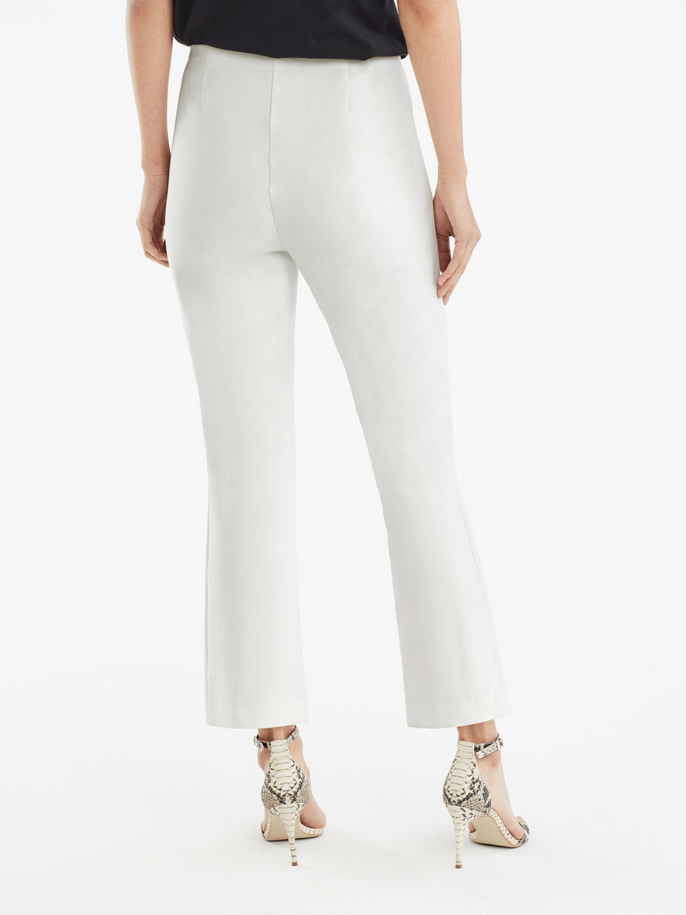 The Jones New York Clean Pull-On Pant in color Ivory - Image Position 3