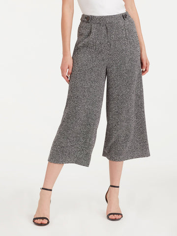 Button Waist Culottes