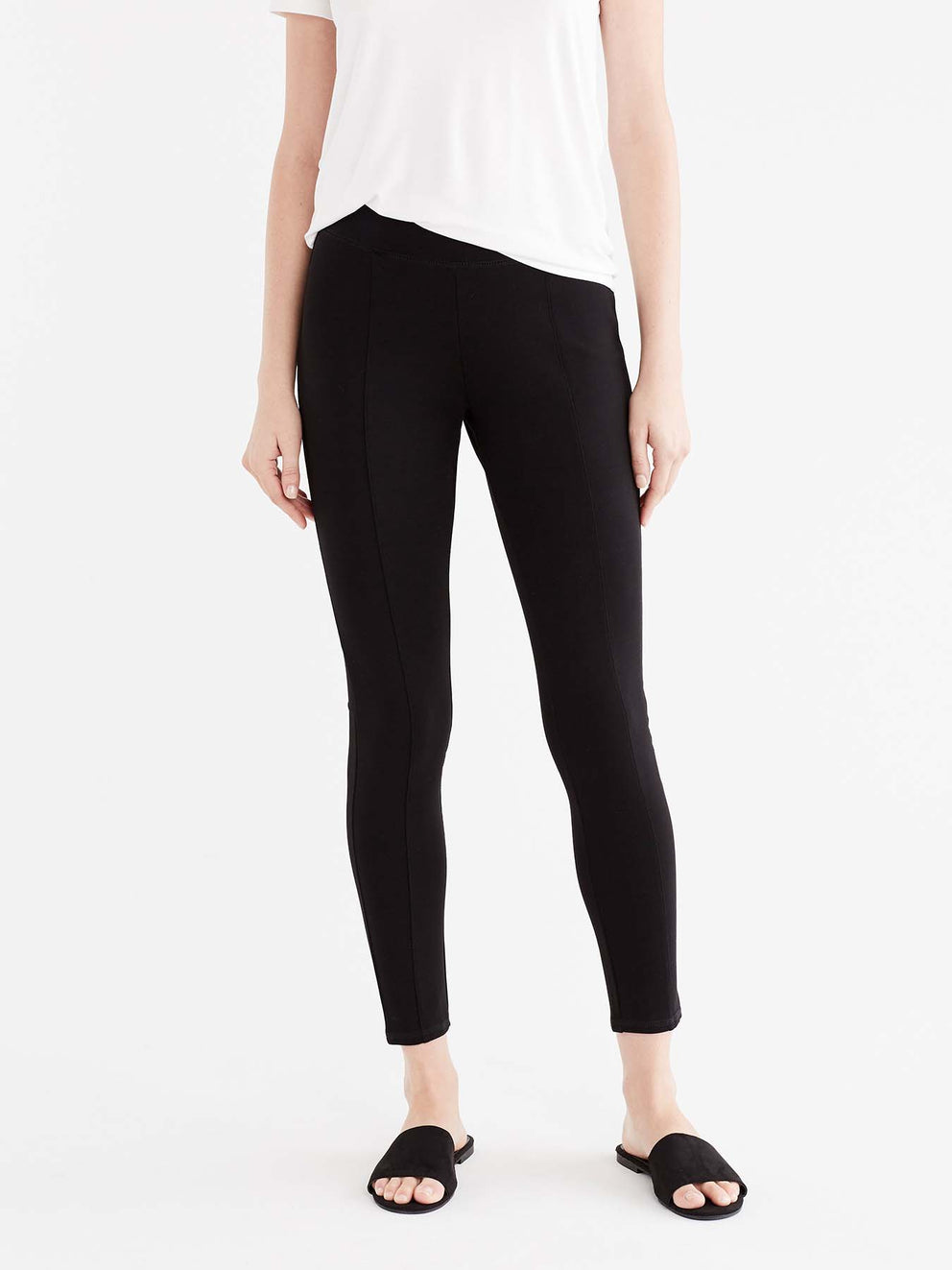 c852f9ac0a5 High Waist Slim Fit Ponte Legging – Jones New York