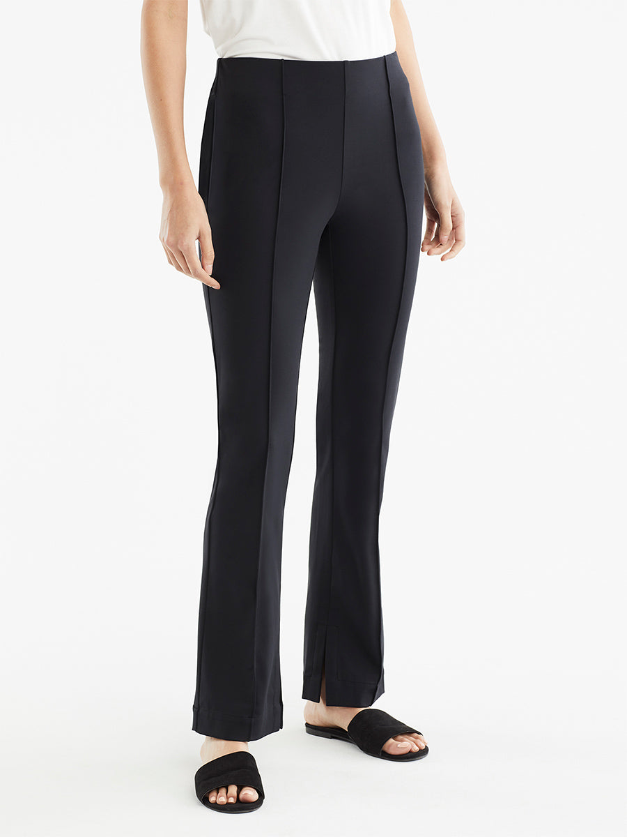 The Jones New York Pintuck Travel Pant in color Black - Image Position 1