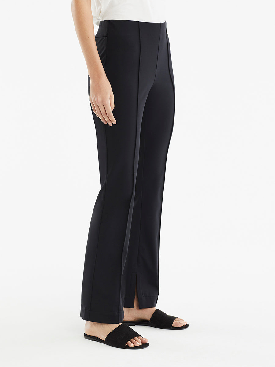 The Jones New York Pintuck Travel Pant in color Black - Image Position 2