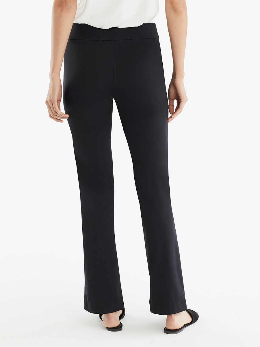 The Jones New York Pintuck Travel Pant in color Black - Image Position 3