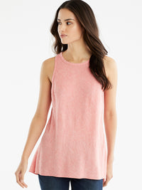 The Jones New York Sleeveless Bias Top in color Watermelon Combo - Image Position 1