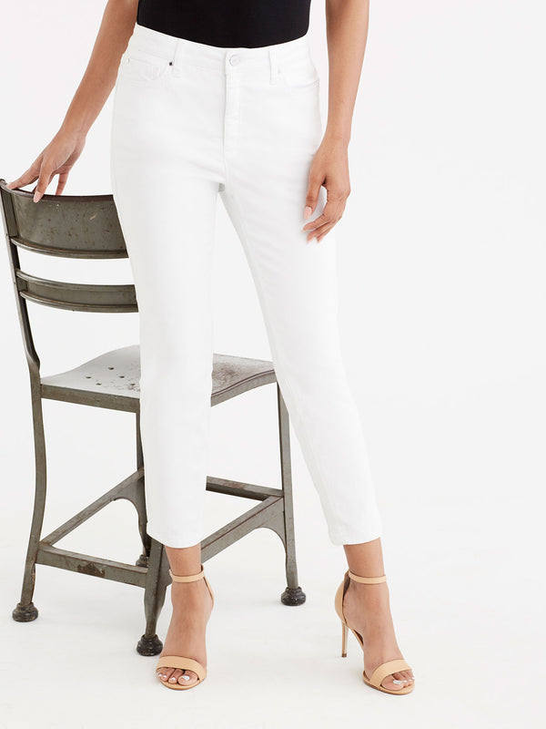 Lexington Skinny Cropped Jeans, Plus Size