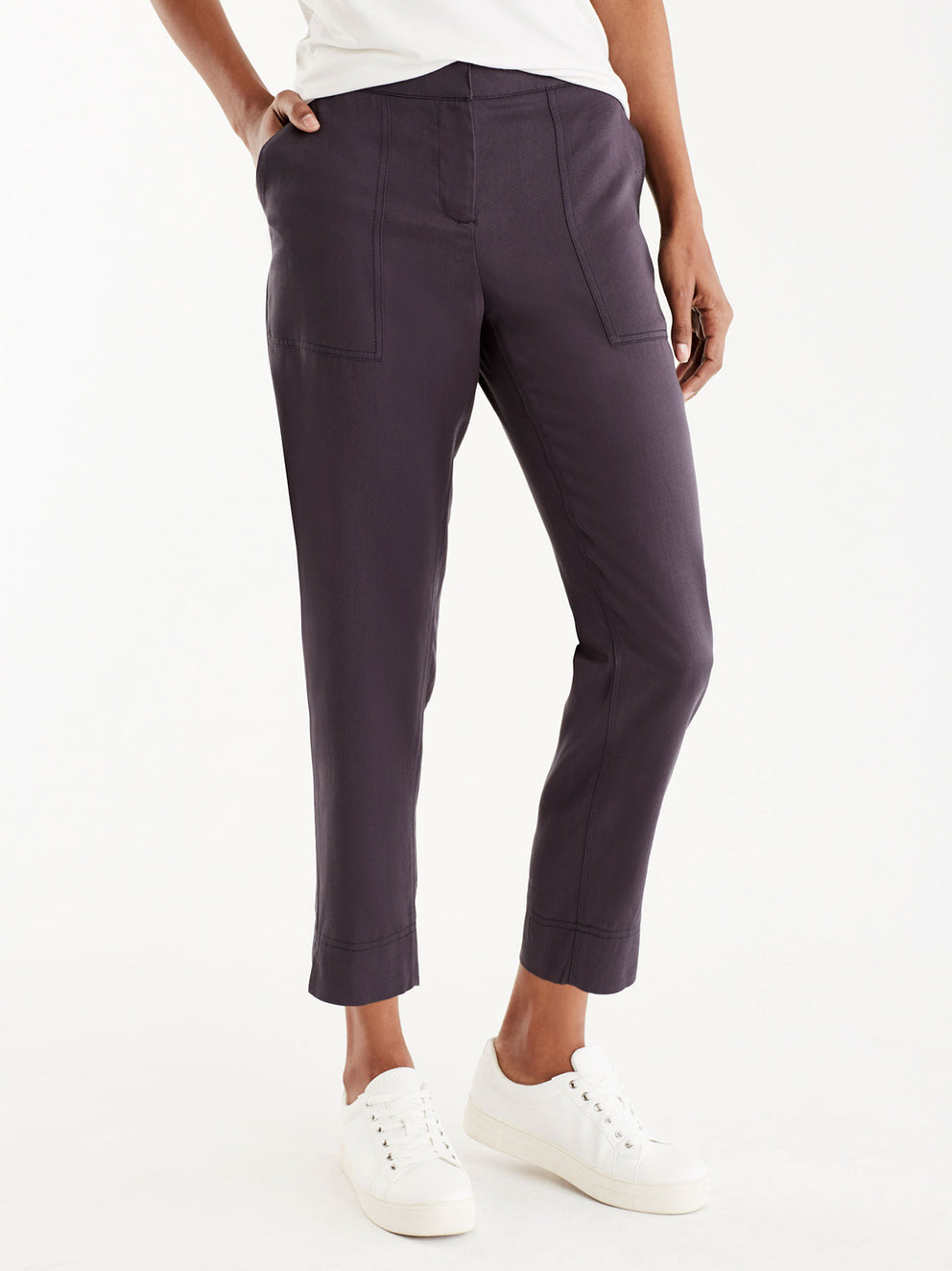 Relaxed Twill Utility Pants Color Ink